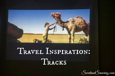 Travel Inspiration: Tracks - Sweet and Savoring [photo by Andy Milford]