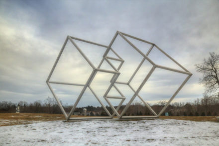Outdoor Art on a Cold Day - Sweet and Savoring [photo by Andy Milford]