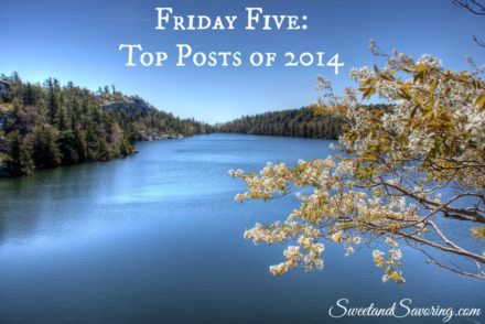 Friday Five: My Top Posts of 2014 - Sweet and Savoring [photo by Andy Milford]
